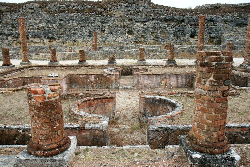 Ruines romaines portugaises de Conimbriga photographie stock