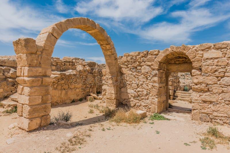 Ruines romaines, Um l'AR-Rasas, Jordanie photographie stock