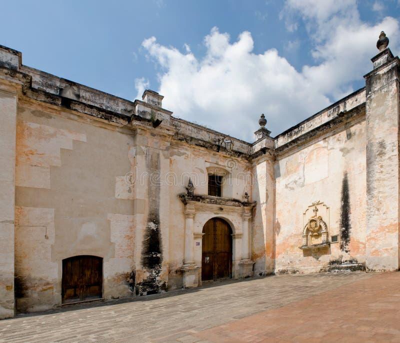 ruines san de Jose de cathédrale vieilles photo stock