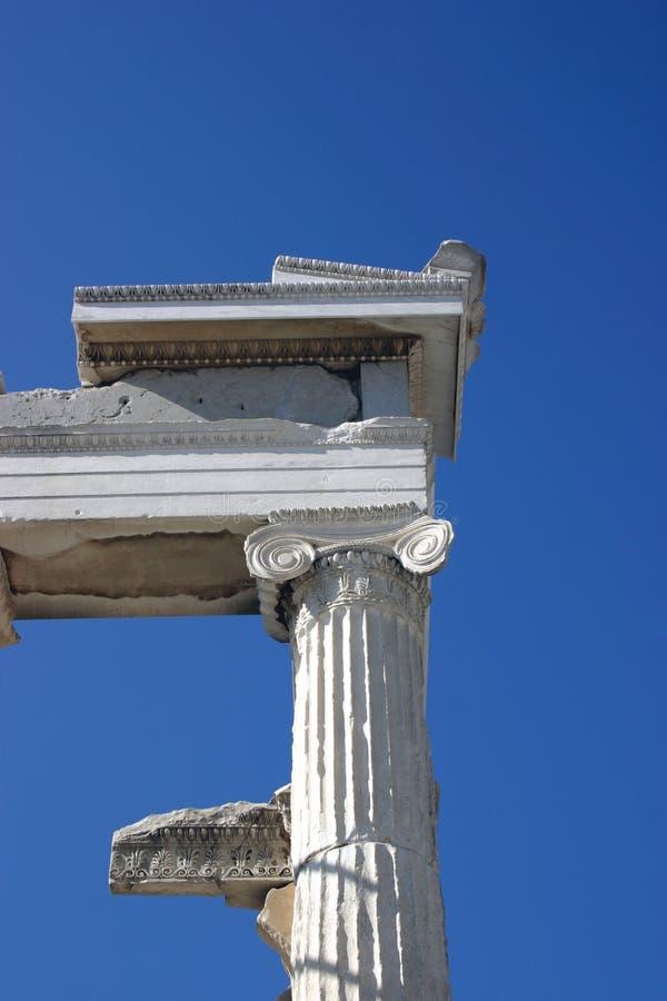 Ruines Sur Le Ciel Images stock
