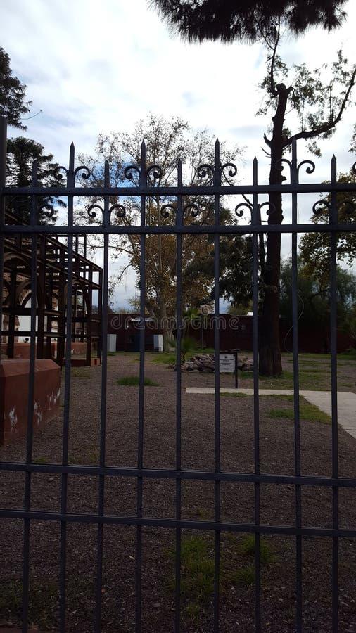 Ruiniert Kirche mendoza San Francisco Pope Francis Argentina lizenzfreie stockfotos