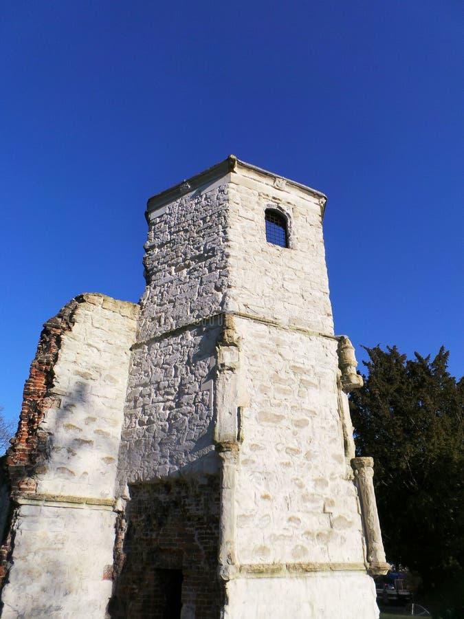 Ruinierte Abtei lizenzfreie stockbilder