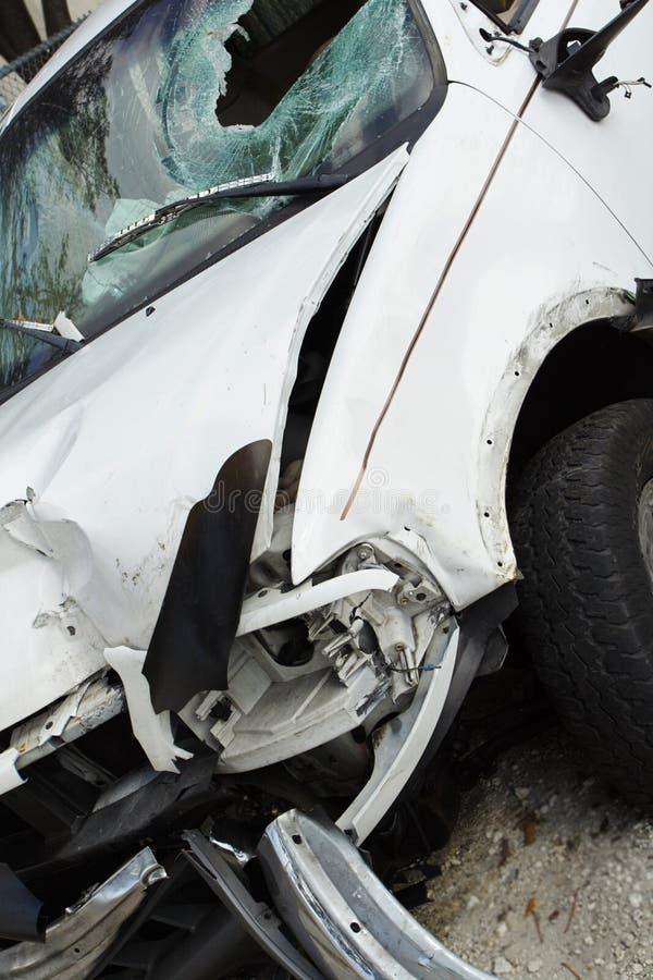 Ruiniertes Fahrzeug stockfoto
