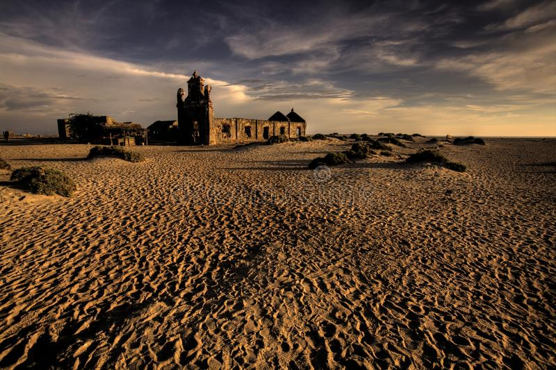 Download Ruinous Hindu Temple On The Sand Stock Image - Image: 10118209