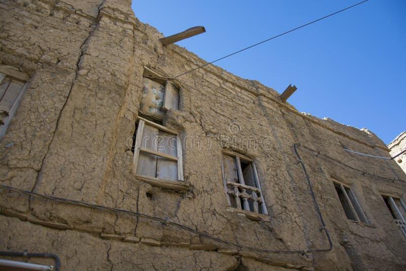 Ruins Al Hamra Oman royalty free stock photography