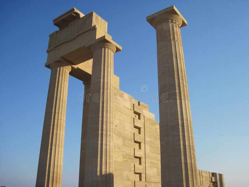 Download Ruins Of Ancient Acropolis Temple Stock Photo - Image: 24291756