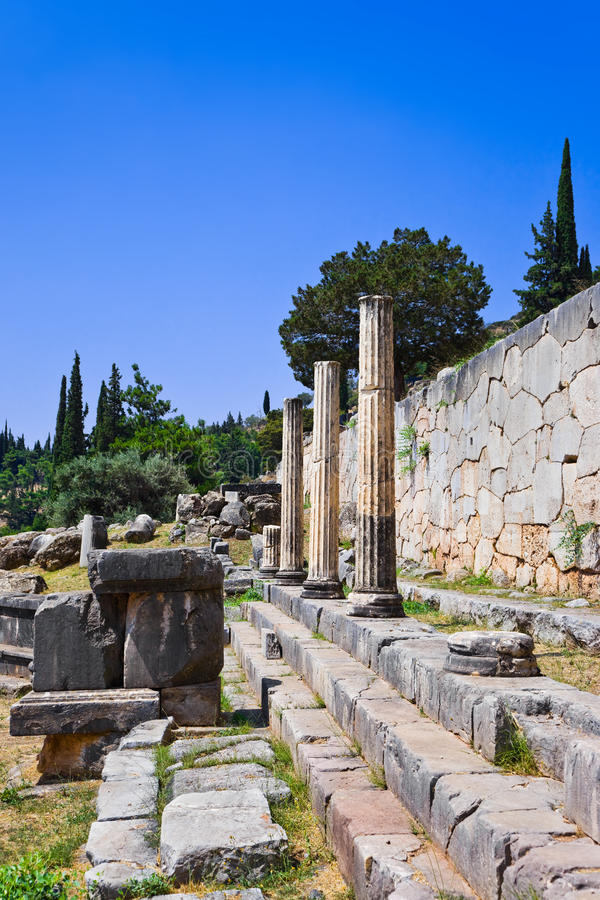 Download Ruins Of The Ancient City Delphi, Greece Stock Photo - Image: 22872156