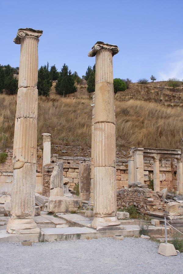 Ruins of ancient city Ephesus, Turkey