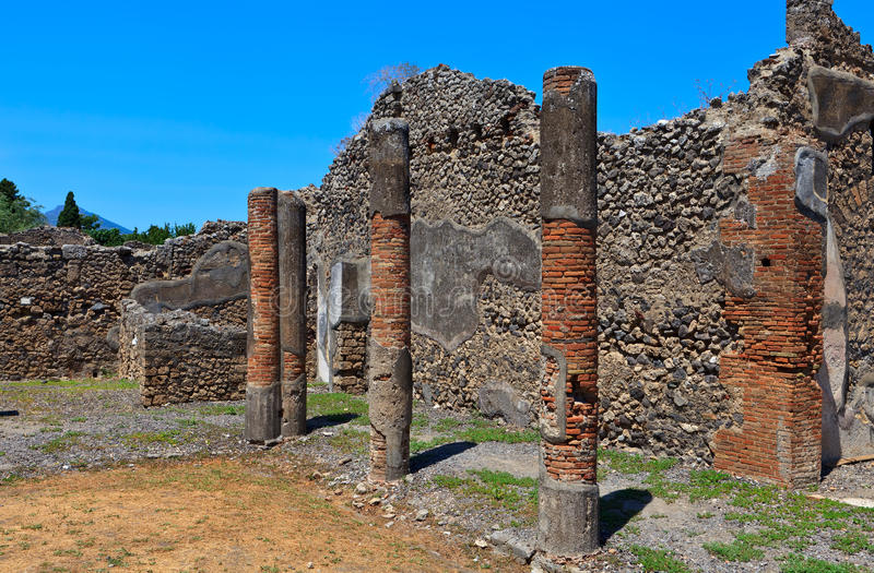 Download Ruins Of Ancient City Pompeii Stock Image - Image: 25899183