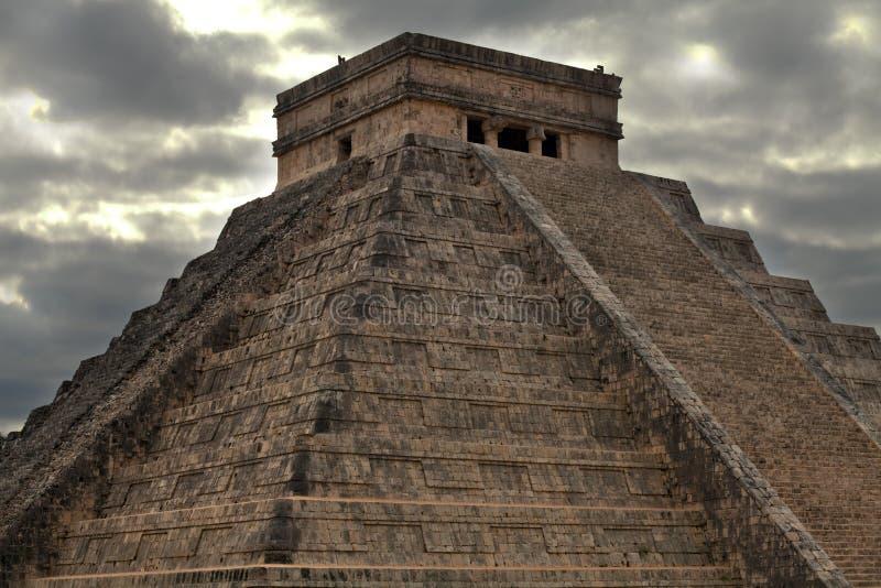 Ruins of Ancient maya cities royalty free stock photography