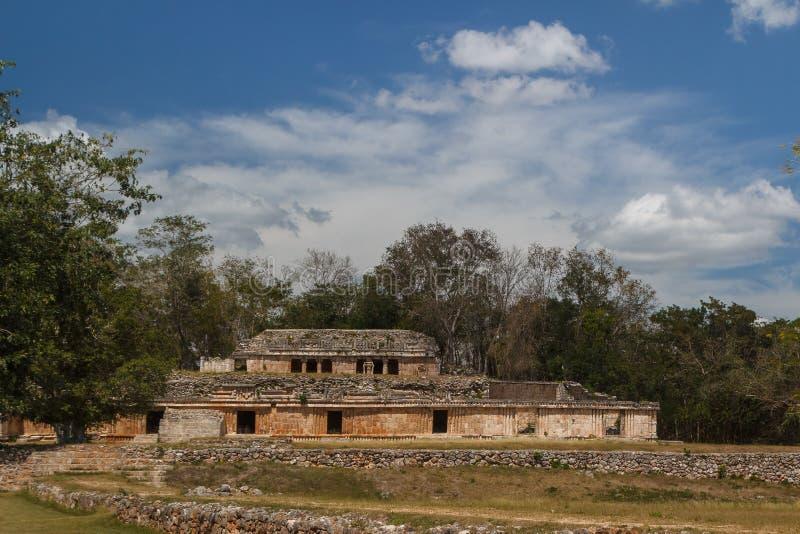 Ruins of the ancient Mayan city of Labna. Mexico stock image