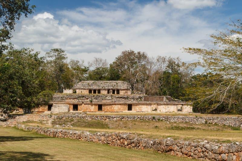 Ruins of the ancient Mayan city of Labna. Mexico royalty free stock photos
