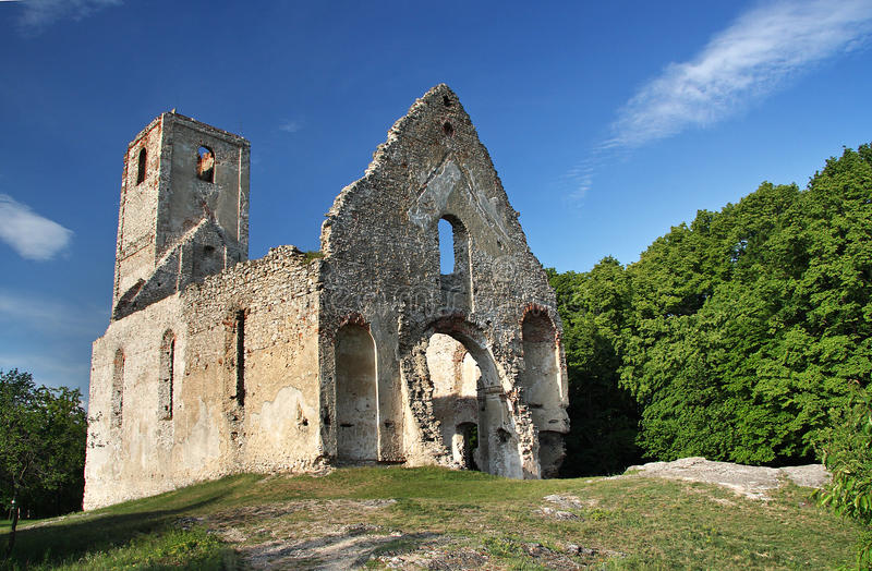 Download The Ruins Of An Ancient Monastery Stock Image - Image: 13138493