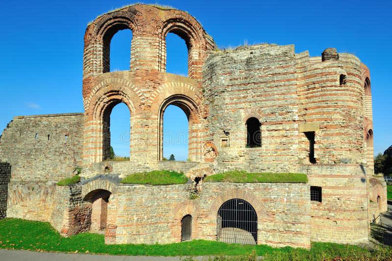 Download Ruins Of Ancient Roman Imperial Baths In Trier Stock Photo - Image: 27421362