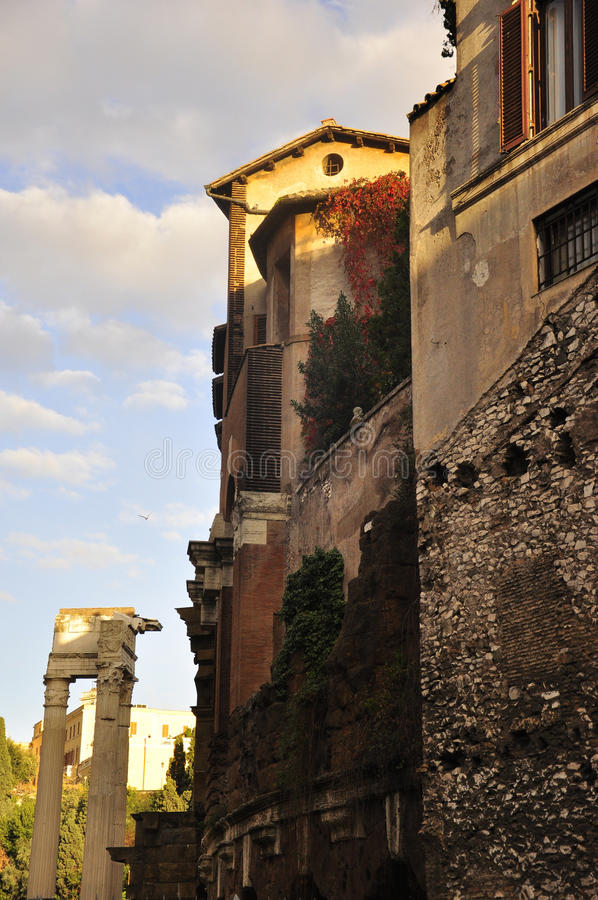 Download Ruins of ancient Rome stock photo. Image of archaeology - 27768684