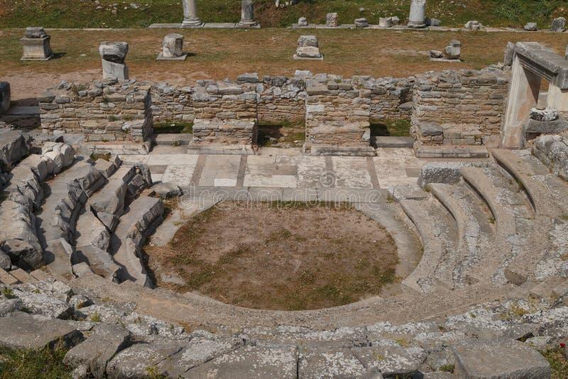 Ruins of the ancient town Iassos Iasos stock photography