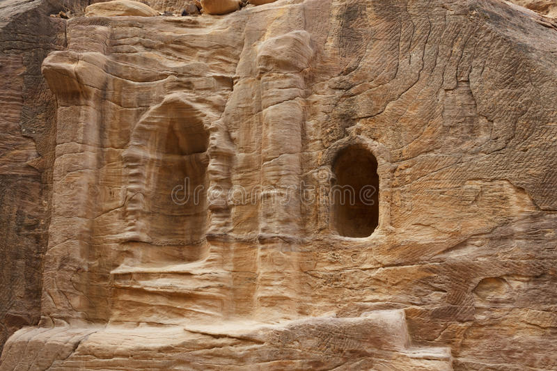 Download Ruins In Bab As-Siq, Petra Royalty Free Stock Photos - Image: 27663478