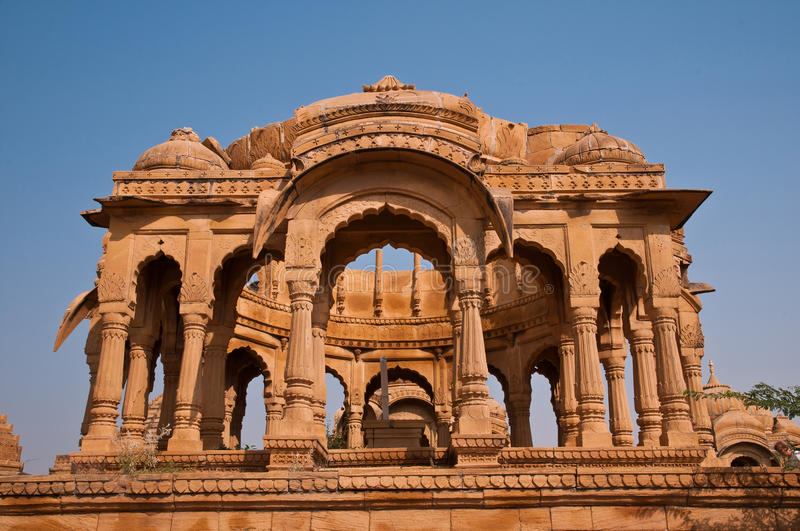 Download Ruins Of Bada Bagh In Jaisalmer Stock Image - Image: 24809249