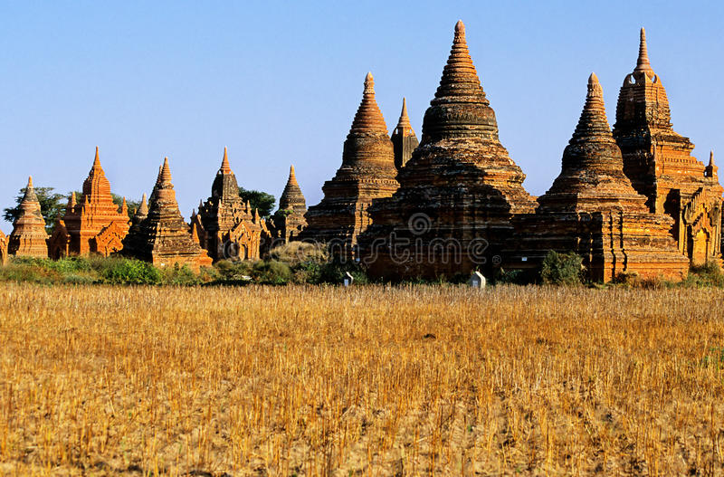 Download Ruins Of Bagan- Burma (Myanmar) Stock Image - Image: 9838419