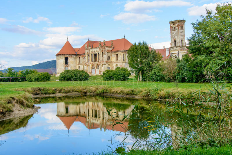 Download The Ruins Of Banffy Castle From Bontida Village Near Cluj Napoca Transylvania