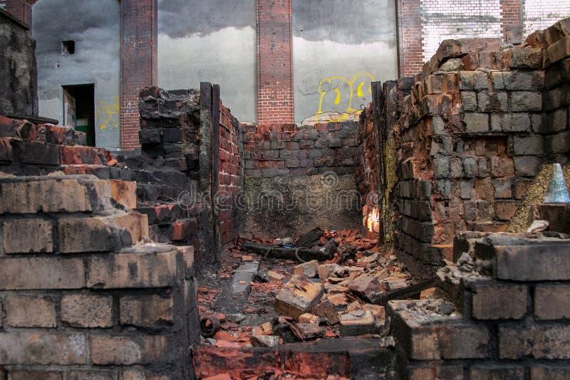 Ruins of Beelitz-Heilstätten Lost place Berlin Brandenburg royalty free stock photography