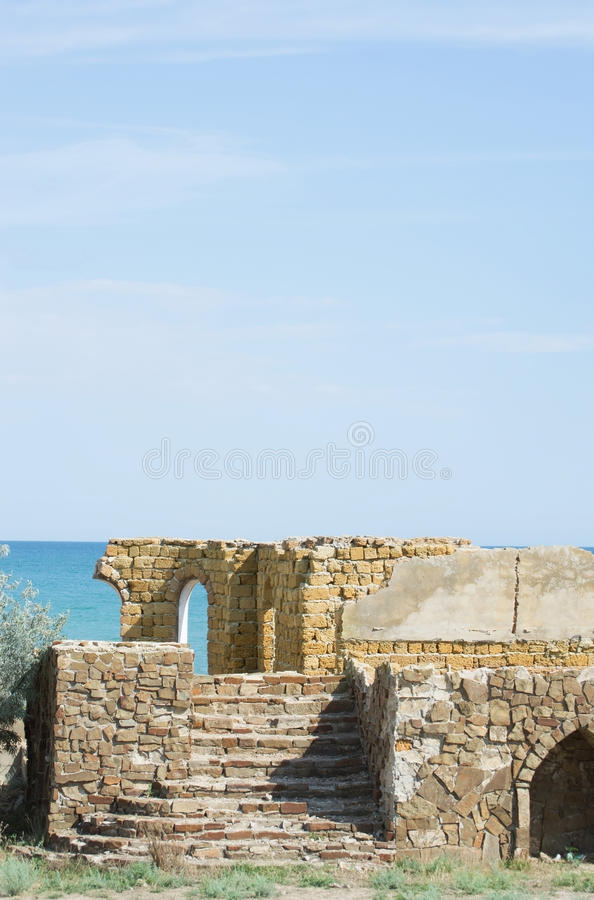 Download Ruins  Building Of Limestone Stock Image - Image: 33087975