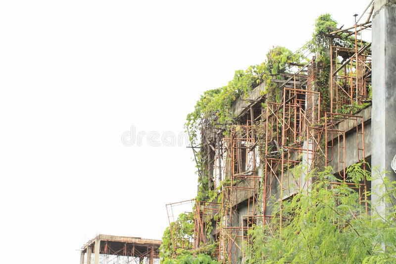 Ruins Of A Building Royalty Free Stock Photos