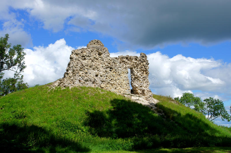 Download Ruins Of A Castle Royalty Free Stock Photos - Image: 26111878
