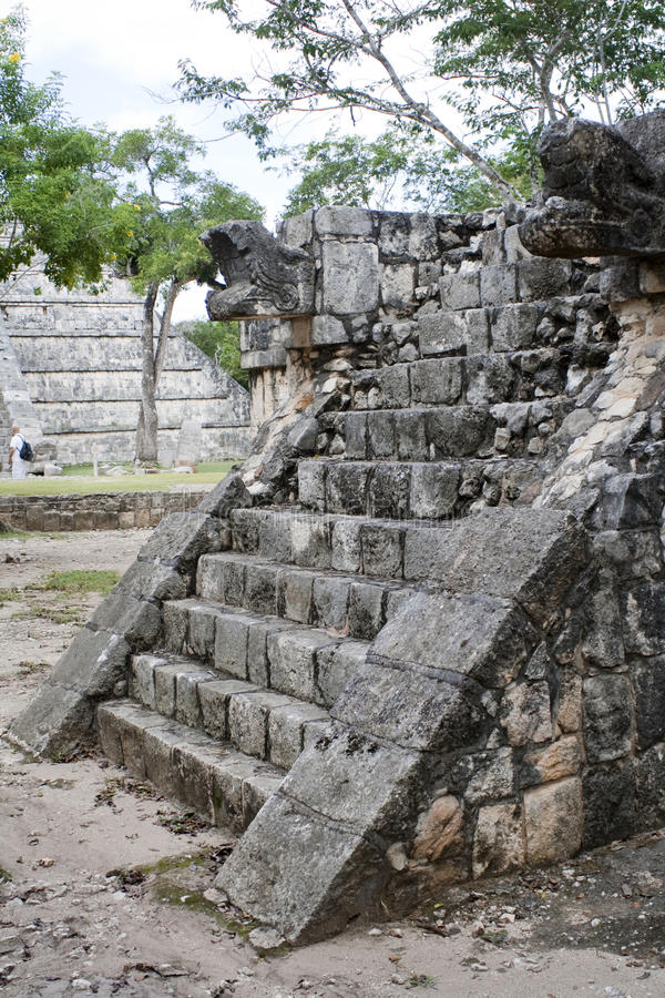 Download Ruins Of Chichen Itza: Feathered Serpent Stock Photo - Image: 12396244