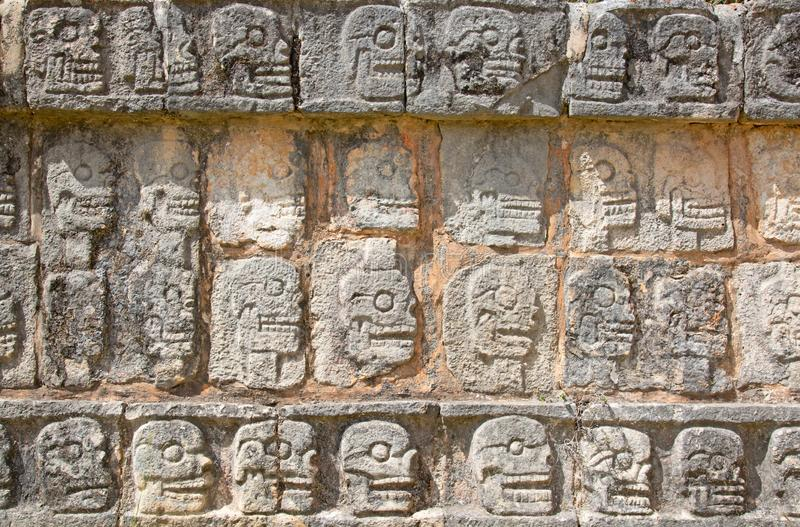 Ruins of the Chichen-Itza. Yucatan, Mexico royalty free stock photos