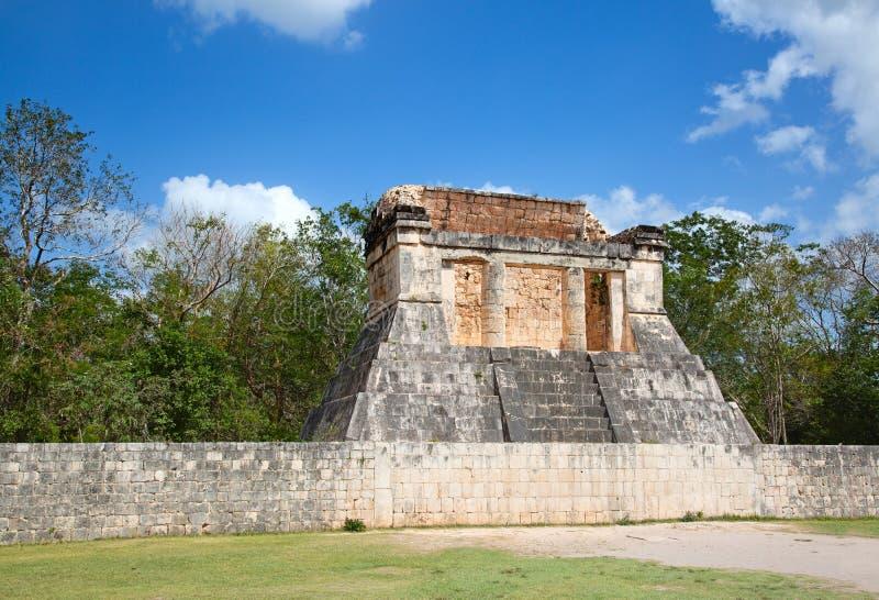 Ruins of the Chichen-Itza. Yucatan, Mexico stock photography