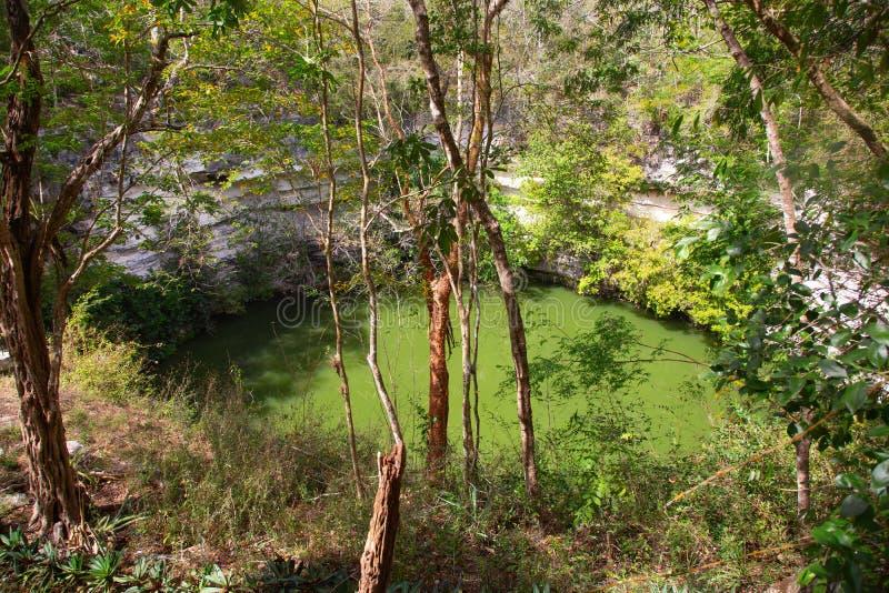 Ruins of the Chichen-Itza. Yucatan, Mexico stock photo