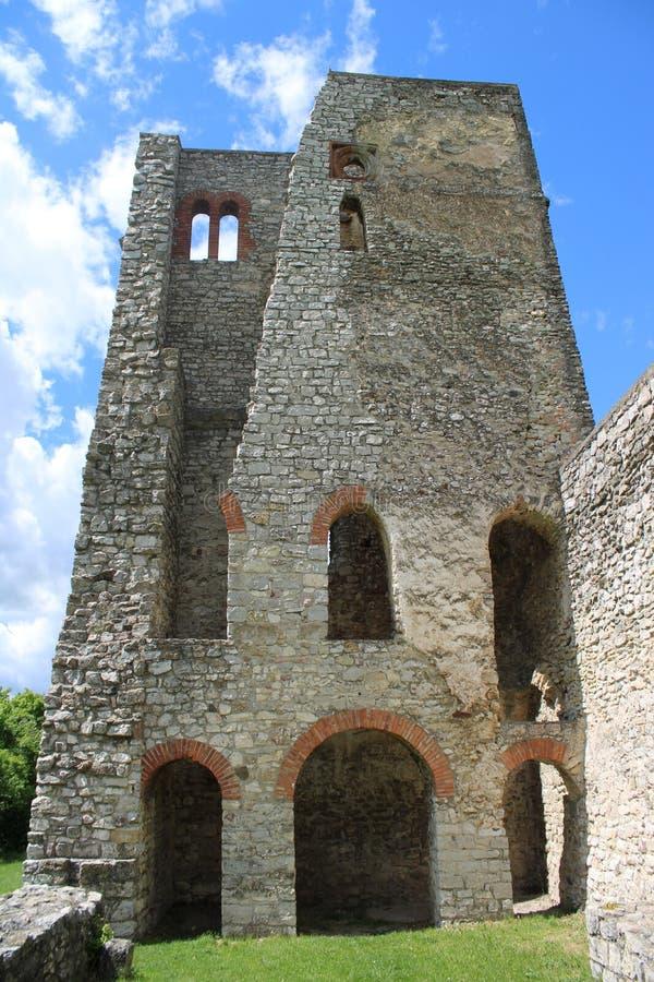 Old ruins of a church. Ruins of a church at Dorgicse, Hungary stock image
