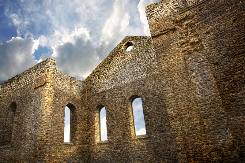 Download Ruins Of A Church In South Glengarry, Ontario Stock Photo - Image: 20896296