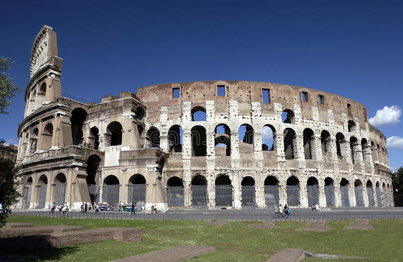 Ruins Of The Colosseum In Rome