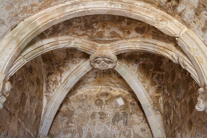 Ruins of the Cuilalapan de Guerrero monastery. CUILAPAN DE GUERRERO / MEXICO - JANUARY 2014: Ruins of the Cuilapan de Guerrero monastery, Oaxaca, Mexico stock photos
