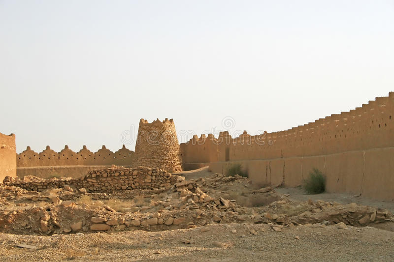 Ruins of Diriyah royalty free stock image