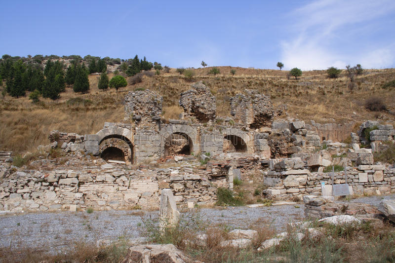 Download Ruins of Ephesus stock photo. Image of antique, town - 11361816