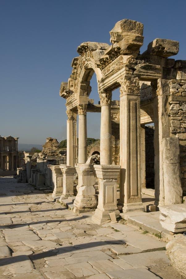 Download Ruins of Ephesus, Turkey stock image. Image of culture - 14810039