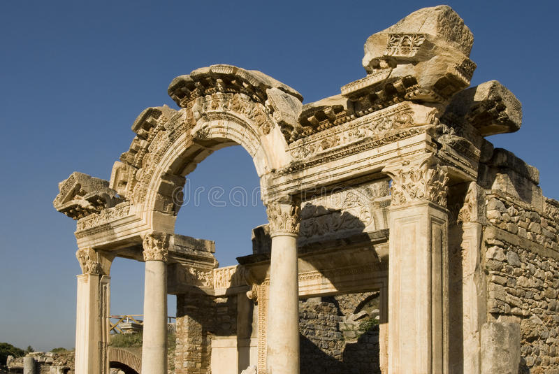Ruins Of Ephesus, Turkey Stock Photos