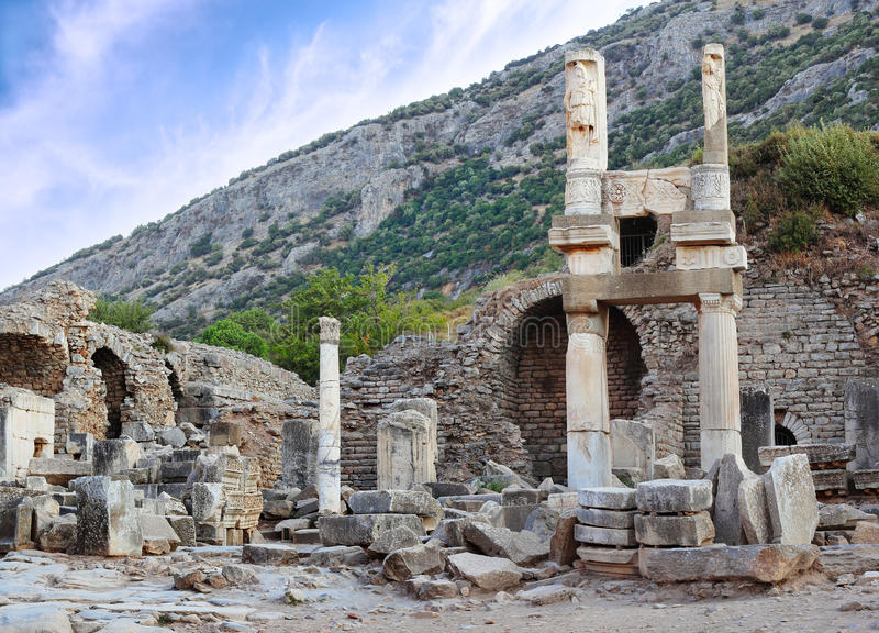 Ruins Of Ephesus Stock Photography