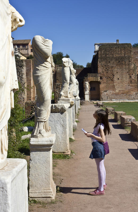 Download Ruins of the forum stock image. Image of arch, church - 20154327