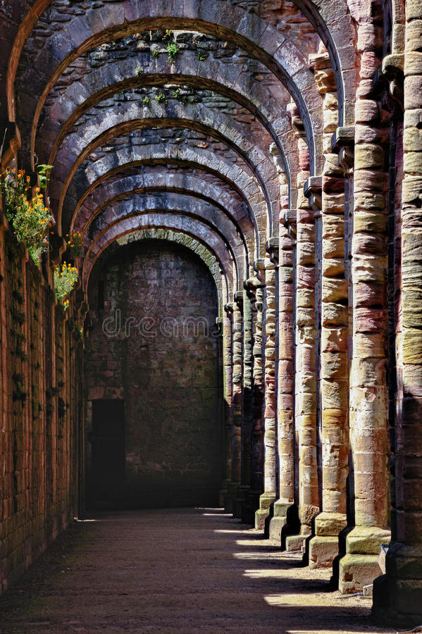 Download Ruins Of Fountains Abbey stock image. Image of exterior - 31249709