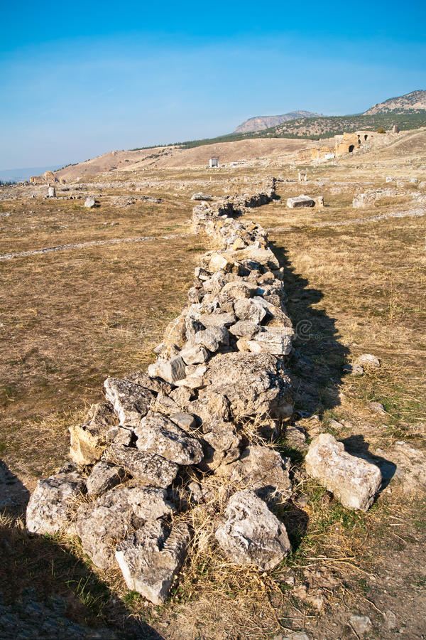 Download Ruins of Hierapolis stock image. Image of ruined, ruins - 22199601