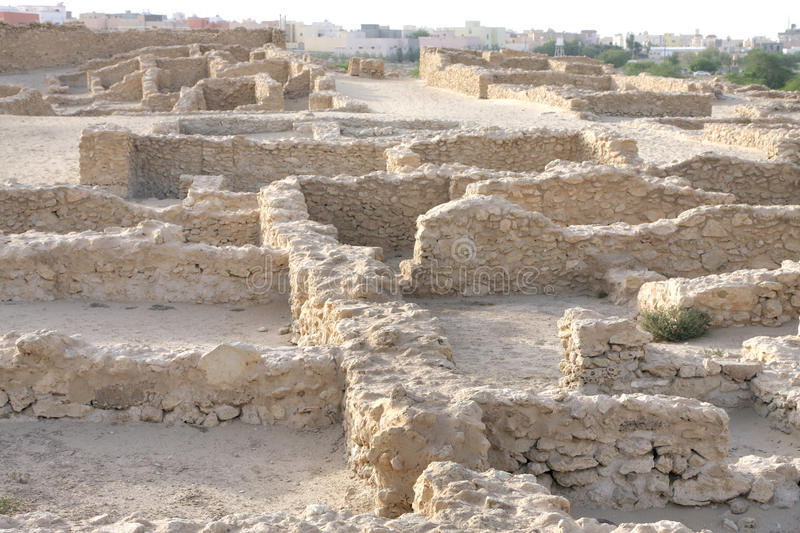 Download Ruins Of Houses With Communal Walls, Saar Village Stock Photo - Image: 25331720