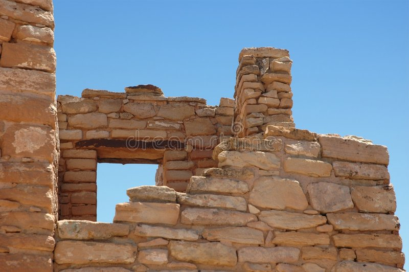 Ruins at Hovenweep stock image