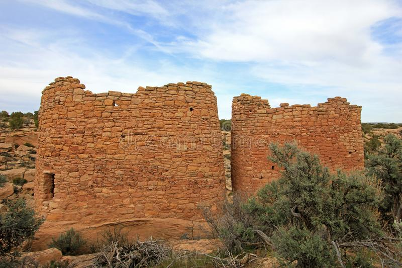 Ruins at Hovenweep National Monument, Colorado royalty free stock images