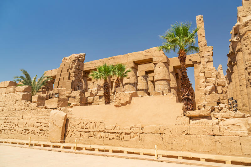 Download Ruins Of Karnak Temple In Luxor, Egypt Stock Photo - Image: 30744508