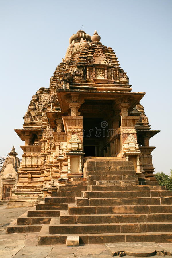 Download Ruins Khajuraho Temple, India Stock Image - Image of scenics, historic: 11611113