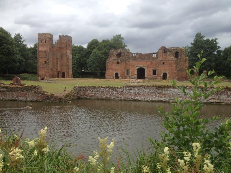 Kirby Muxloe Castle royalty free stock photography